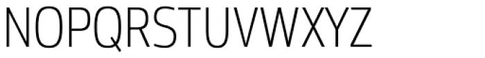 Moveo Sans Cond Light Font UPPERCASE