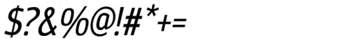 Moveo Sans Cond Medium Italic Font OTHER CHARS