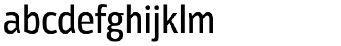 Moveo Sans Cond Medium Font LOWERCASE