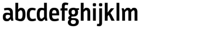 Moveo Sans Cond SemiBold Font LOWERCASE