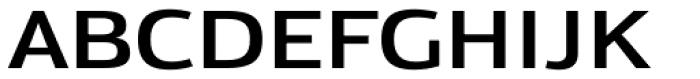 Moveo Sans Ext SemiBold Font UPPERCASE