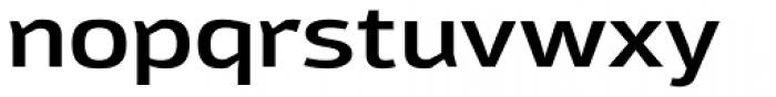 Moveo Sans Ext SemiBold Font LOWERCASE