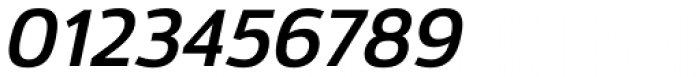 Moveo Sans SemiBold Italic Font OTHER CHARS