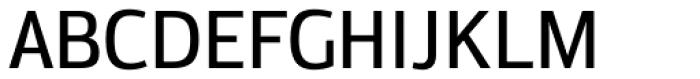Moveo Sans SemiCond Medium Font UPPERCASE