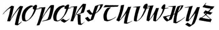 Movie Script Font UPPERCASE