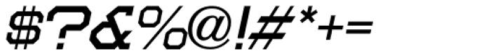 Moving Van Oblique JNL Font OTHER CHARS