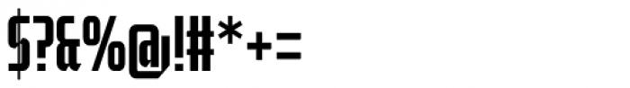 Moyenage Sans 13 Font OTHER CHARS