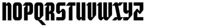 Moyenage Sans 14 Font UPPERCASE