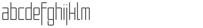 Moyenage Sans 21 Font LOWERCASE