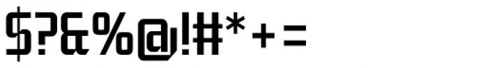 Moyenage Sans 23 Font OTHER CHARS