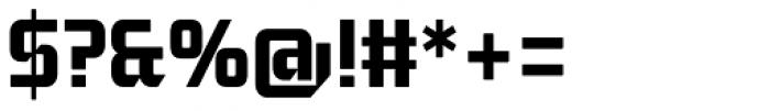 Moyenage Sans 24 Font OTHER CHARS