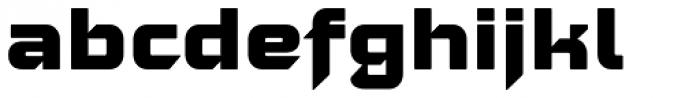 Moyenage Sans 35 Font LOWERCASE