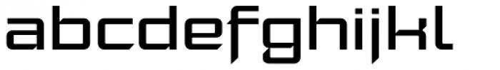 Moyenage Sans 43 Font LOWERCASE