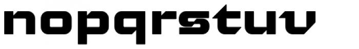 Moyenage Sans 45 Font LOWERCASE