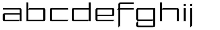 Moyenage Sans 52 Font LOWERCASE