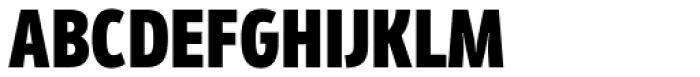 Mozer Black Font UPPERCASE