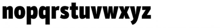 Mozer Black Font LOWERCASE