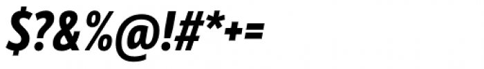 Mozer Heavy Italic Font OTHER CHARS