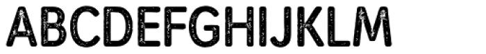 Mozzart Rough Bold Condensed Font UPPERCASE
