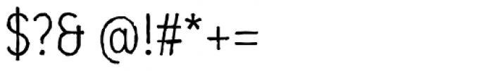 Mozzart Sketch Regular Condensed Font OTHER CHARS