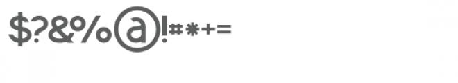 Momoco Medium Font OTHER CHARS