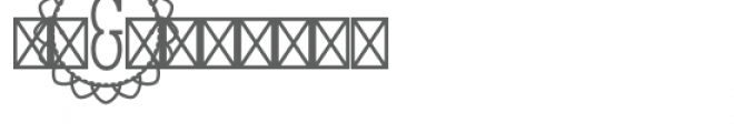 monogram petal full circle Font OTHER CHARS