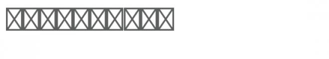 monogram script petal circle Font OTHER CHARS