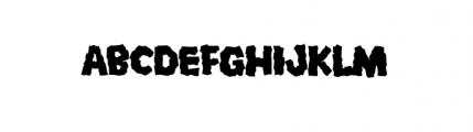 Mongo (plain) Font UPPERCASE