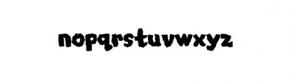Mongo (plain) Font LOWERCASE