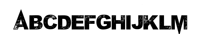 MPonderosa Font UPPERCASE