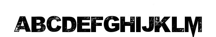MPonderosa Font LOWERCASE