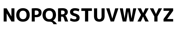 Mplus 1p ExtraBold Font UPPERCASE
