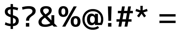 Mplus 1p Medium Font OTHER CHARS