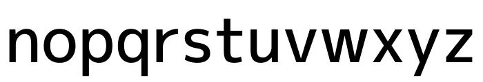 Mplus 1p Medium Font LOWERCASE