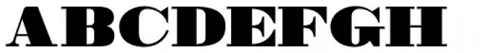 MPI Bodoni Ultra Font UPPERCASE