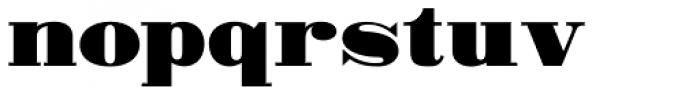 MPI Bodoni Ultra Font LOWERCASE