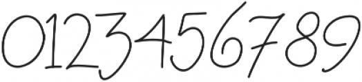 MRF Raspberry Granola otf (400) Font OTHER CHARS