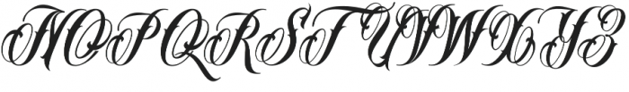 Mr Brown VMF otf (400) Font UPPERCASE
