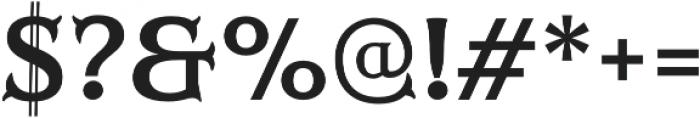 Mr Darcy Bold otf (700) Font OTHER CHARS