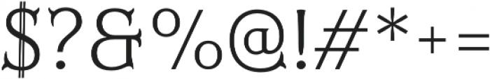 Mr Darcy Light otf (300) Font OTHER CHARS