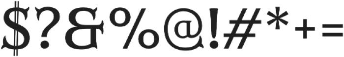 Mr Darcy Medium otf (500) Font OTHER CHARS