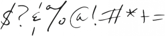 Mr. Handy otf (400) Font OTHER CHARS