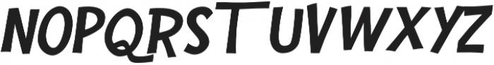 Mr Konky Italic otf (400) Font UPPERCASE
