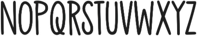 Mr Stretch otf (400) Font LOWERCASE