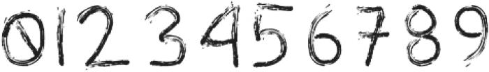 Mr Trumb Chalk otf (400) Font OTHER CHARS