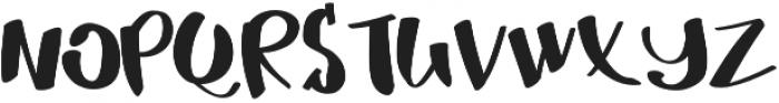 MrDuff otf (400) Font UPPERCASE