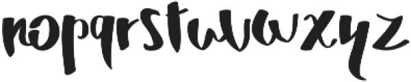 MrDuff otf (400) Font LOWERCASE