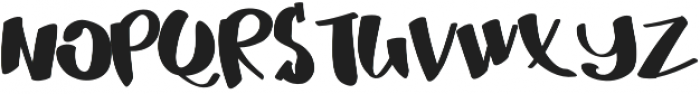 MrDuff otf (700) Font UPPERCASE