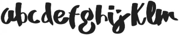 MrDuff otf (700) Font LOWERCASE