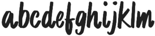 MrProxy Regular otf (400) Font LOWERCASE